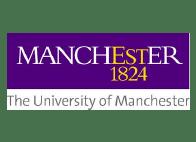 Logo Manchester University, partenaire de MyPeBS