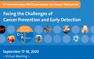 2nd International DKFZ  Conference on Cancer Prevention – Virtual Meeting – September 17 – 18, 2020