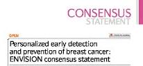 Envision network consensus statement