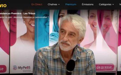 Interview du Dr. JB Burrion, coordinateur MyPeBS en Belgique, sur RTBF